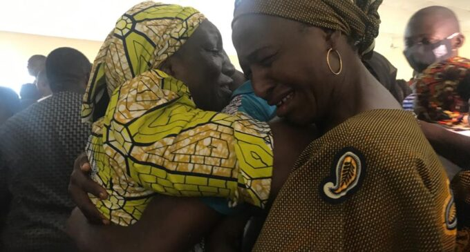 Tears, emotional scenes as Afaka students reunite with their parents