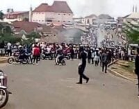 Panic as motorcycle operators stage violent protest in Abuja community