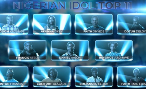 11 contestants vie to become next Nigerian Idol