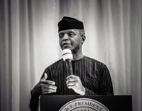 Osinbajo: FG spent over N8.9trn on infrastructure projects in five years