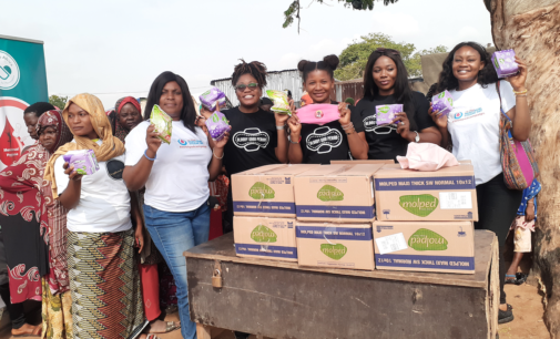 'Every girl deserves sanitary pads' — NGO distributes menstrual products in Abuja