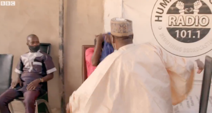 VIDEO: Controversy as Brekete Family host slaps woman who 'set child on fire'