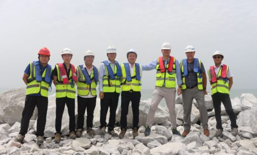 Lekki Port: Core of main breakwater completed, as construction nears 50% completion
