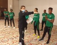 Morocco 2022: I'm confident Falcons will beat Ghana to qualify, says Waldrum