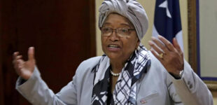 Ex-Liberian president 'disheartened' by suspension of Hadiza as NPA MD