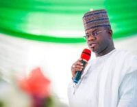 Yahaya Bello: Zoning is unconstitutional — let the best candidate be president in 2023