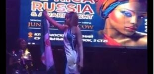 'I've been getting threats' — model who took bloodstained Nigerian flag to Russian pageant breaks silence