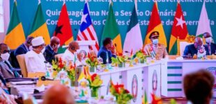 Buhari to ECOWAS leaders: Take realistic decisions that will positively impact citizens