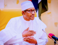 'It must be sustained' — Buhari hails security agencies over Kanu's arrest, manhunt for Igboho