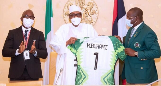 Buhari unveils committee to map out 10-year football development plan
