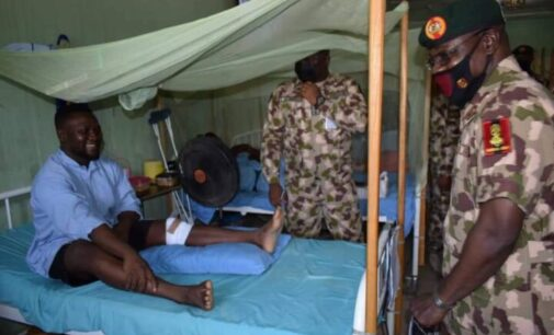 Army chief to soldiers: Nigeria proud of your selfless service