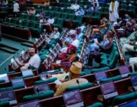 Chaos at house of reps as deputy speaker rules against e-transmission of election results
