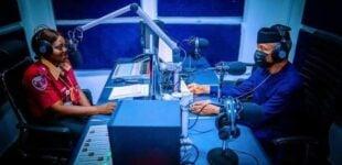 Osinbajo turns 'presenter' as FG inaugurates National Traffic Radio in Abuja