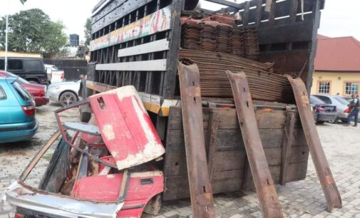 'N1.4m cash, rifles' recovered as police arrest 36 suspects for 'rail track vandalism, kidnapping'