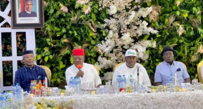 South-east governors kick against secession, say 'Igbo committed to one Nigeria'