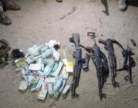 'Six insurgents' killed as troops prevent attack on Borno town
