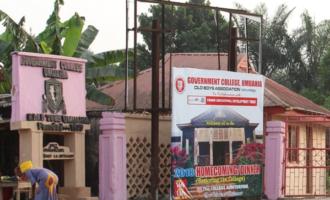 The return of Government College Umuahia