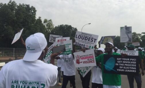 'They promised us N1000' — pro-Buhari protesters grumble over delayed payment