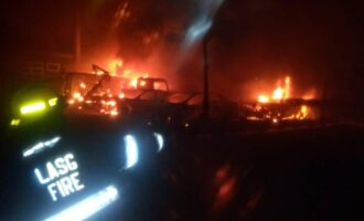 '3 killed, 13 injured' as tanker explodes in Lagos (updated)