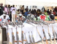 Police arrest 84 suspects for 'terrorism, kidnapping'
