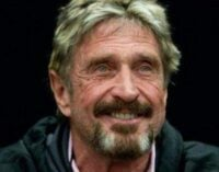 McAfee, US anti-virus entrepreneur, found dead in Spanish prison — after extradition ruling