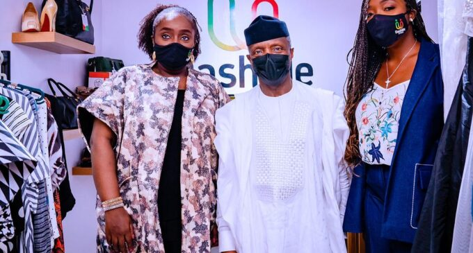 Kemi Adeosun reemerges with 'Dash Me Store', an online thrift-for-charity initiative