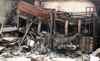 LASEMA: Fire from restaurant caused Lagos tanker explosion