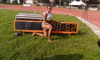 Nigeria's Okagbare becomes '2nd fastest woman in the world'