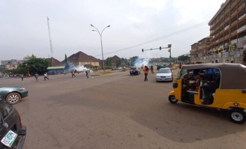 Police fire tear gas at June 12 protesters in Abuja