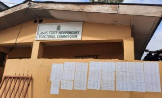 Lagos LG poll: Declaration of results not our responsibility, says LASIEC