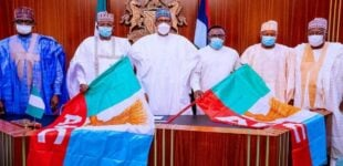 'You've turned Aso Rock to APC headquarters' — PDP governors hit Buhari