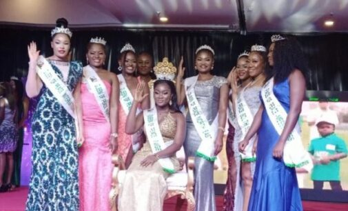 Ajuma Abah crowned 'Queen of Peace Nigeria' 2021