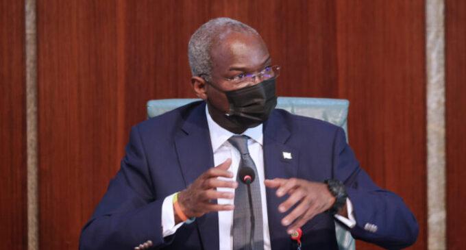 Tax credit: Globacom to reconstruct Ota-Idiroko road in 2022, says Fashola