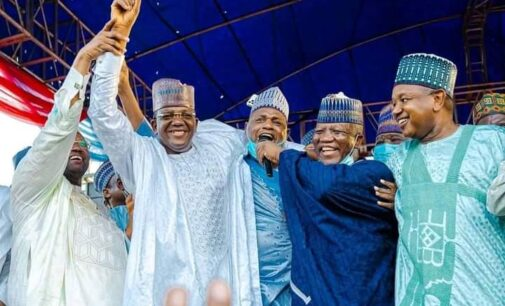 'You're a man of principles' — Oshiomhole hails Matawalle over defection to APC