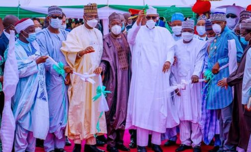 Buhari: Completing projects started by his predecessors shows Ganduje is not wicked