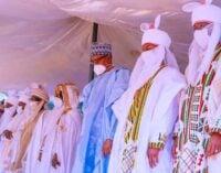 PHOTOS: Buhari, Lawan, Gbaja… how Muslims celebrated Eid-el-Kabir
