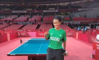 Oshonaike becomes first woman inductee into 'ITTF club 7'
