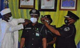 PHOTOS: IGP decorates 24 AIGs with new ranks