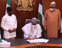 Buhari signs N983bn supplementary budget into law