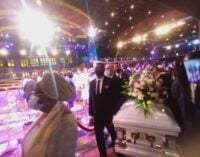 PHOTOS: Synagogue church members mourn as TB Joshua is laid to rest