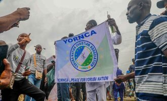Police charge Yoruba Nation protester for 'murder' of salesgirl killed during rally