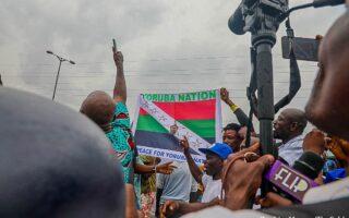 Yoruba nation rally in Lagos