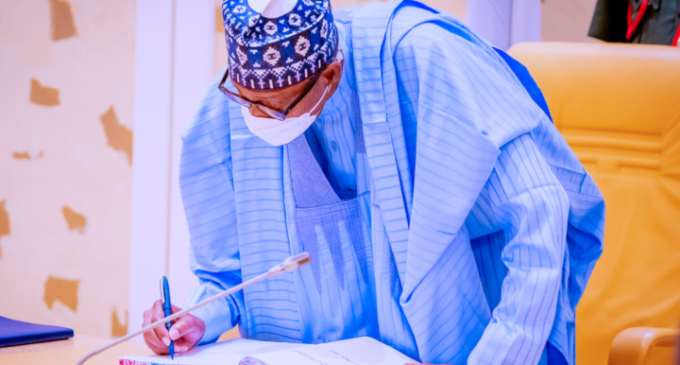 Buhari inaugurates NEITI's new board — after 17 months