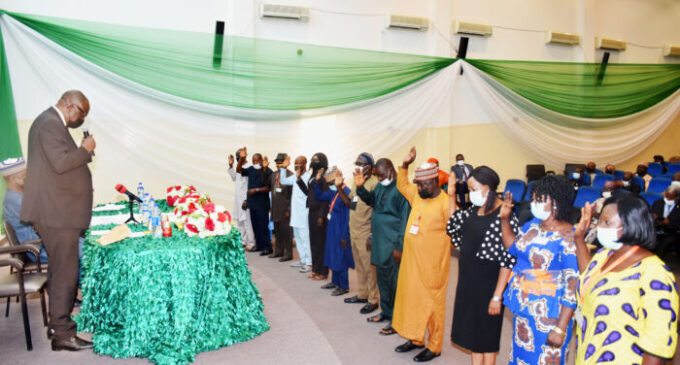 Aso Rock staff take oath of secrecy, warned of 'consequences' for leaking classified information