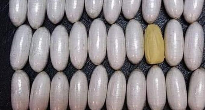 Woman arrested with '35 wraps of cocaine hidden in underwear' at Lagos airport