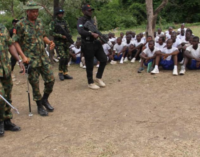 Army chief visits Falgore forest, tasks officers on recruitment process