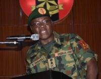Insecurity: I will not accept excuses again, army chief warns commanders