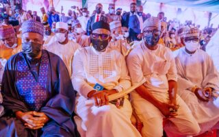 Governors, lawmakers, ministers storm Kano for Yusuf Buhari's wedding