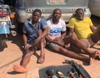 Three suspects arrested as police rescue woman, children kidnapped in Imo
