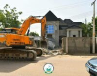 Borno task force operative 'kills man' during protest to stop church demolition